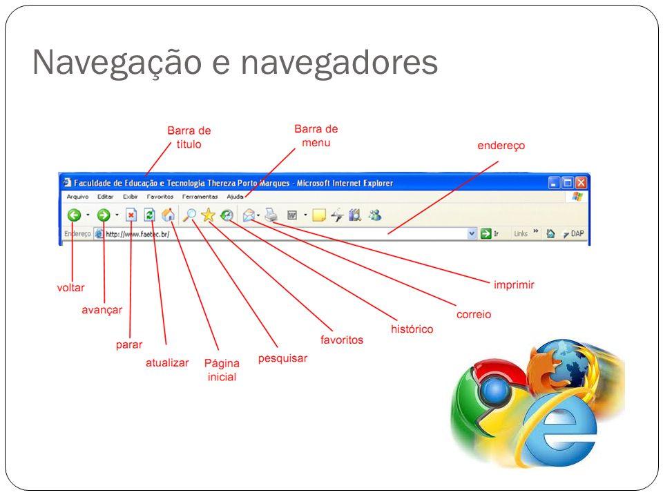 Navegação Navegação e navegadores