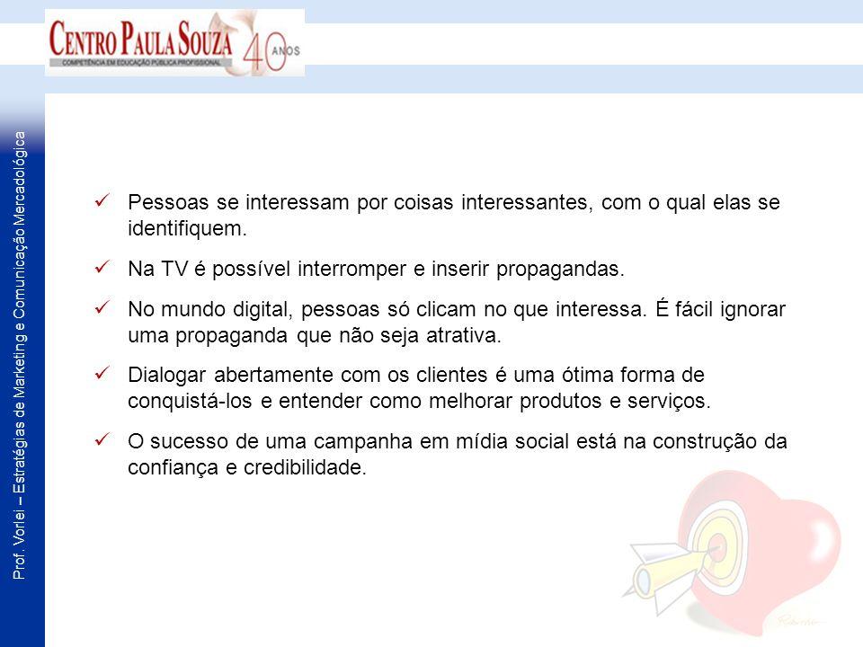 Prof. Vorlei – Estratégias de Marketing e Comunicação Mercadológica Fonte: Portal Exame