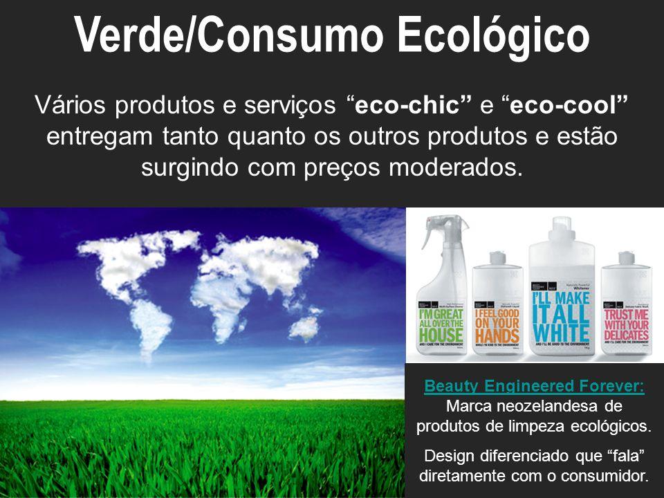 ECO-ECOSYSTEM Vários produtos e serviços eco-chic e eco-cool entregam tanto quanto os outros produtos e estão surgindo com preços moderados. Verde/Con