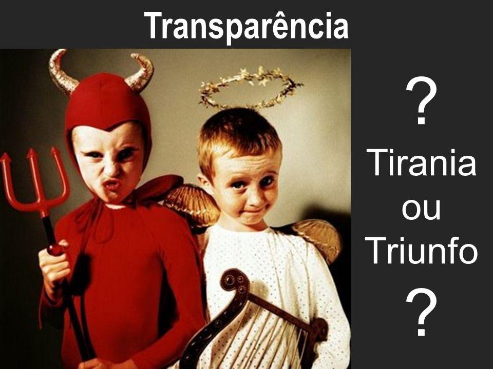 ECO-ECOSYSTEM ? Tirania ou Triunfo ? Transparência