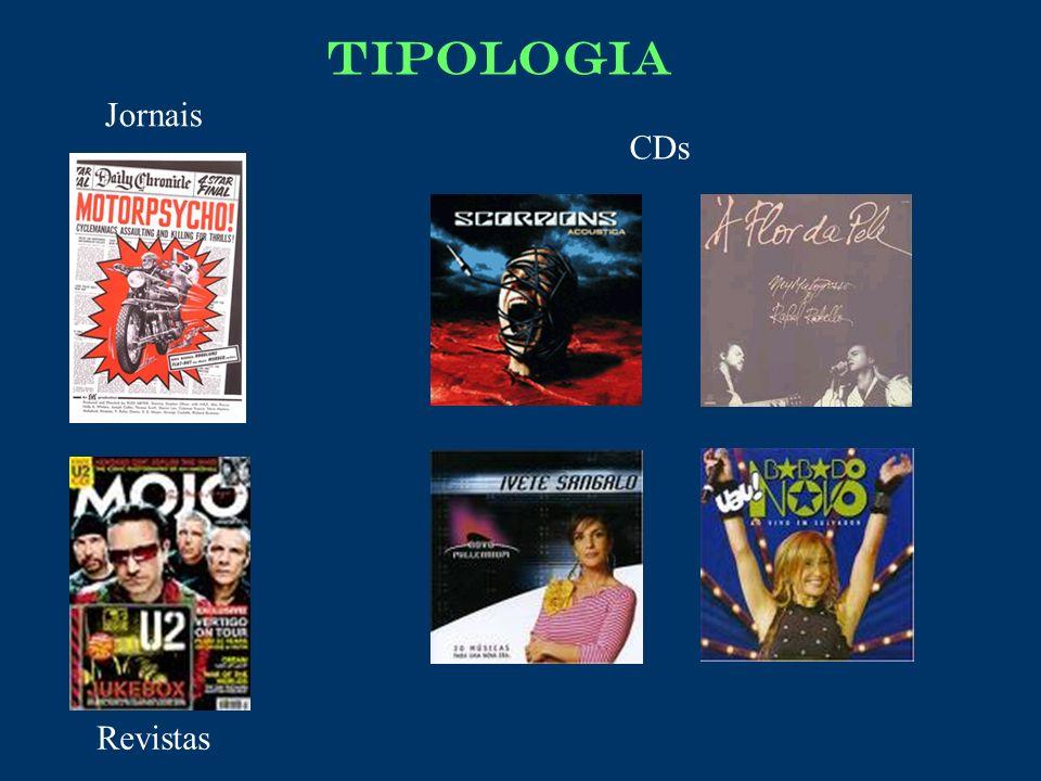 CDs Jornais Revistas