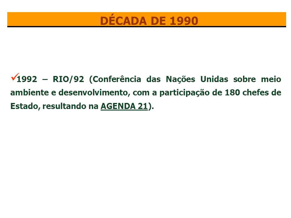 1987 – Publicado Relatório Brundtland ou Nosso Futuro Comum.