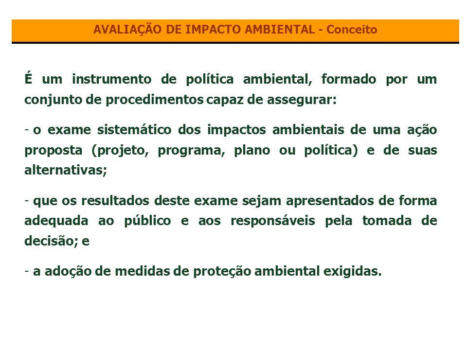 AVALIAÇÃO DE IMPACTO AMBIENTAL ?