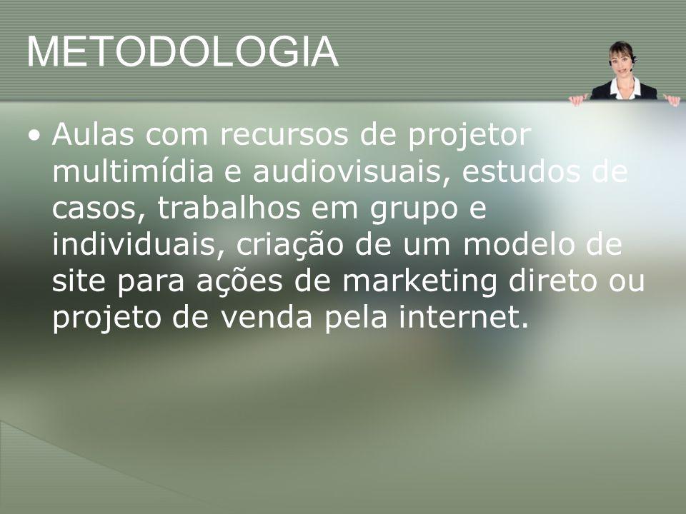CONTEÚDO PROGRAMÁTICO 1.Introdução ao Marketing Direto e Digital.