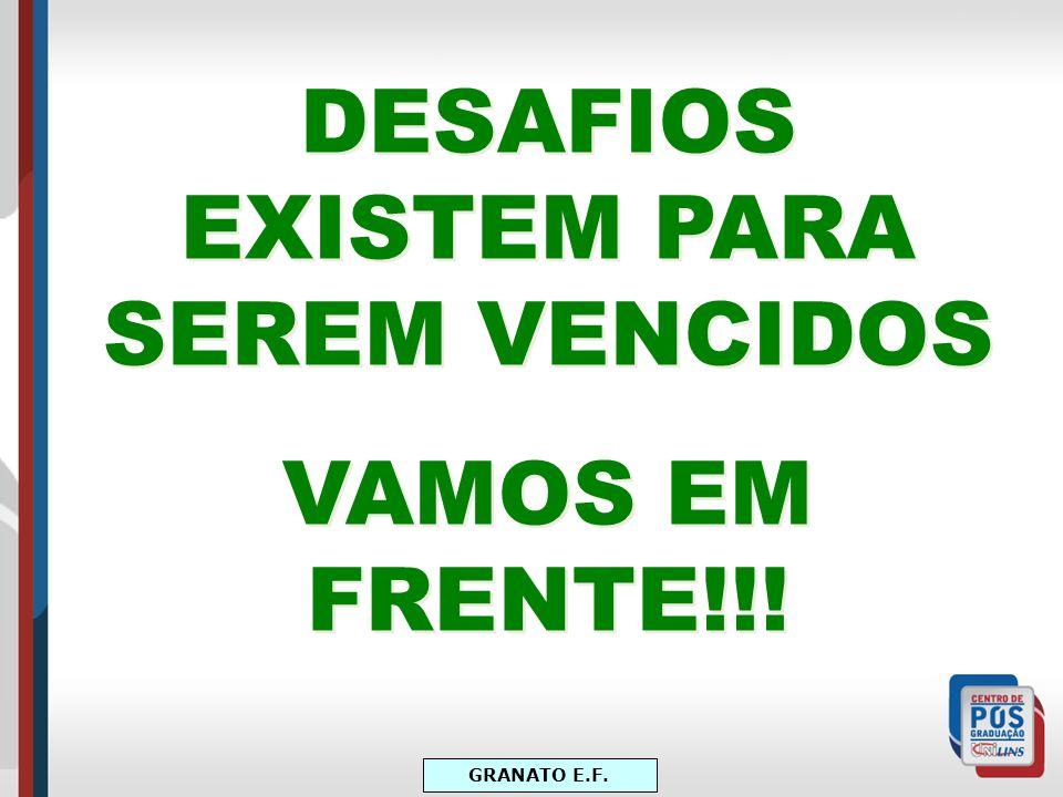 DESAFIOS EXISTEM PARA SEREM VENCIDOS VAMOS EM FRENTE!!! DESAFIOS EXISTEM PARA SEREM VENCIDOS VAMOS EM FRENTE!!!