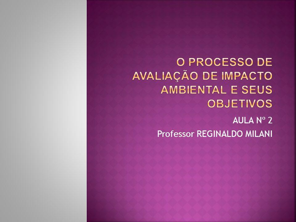 AULA Nº 2 Professor REGINALDO MILANI