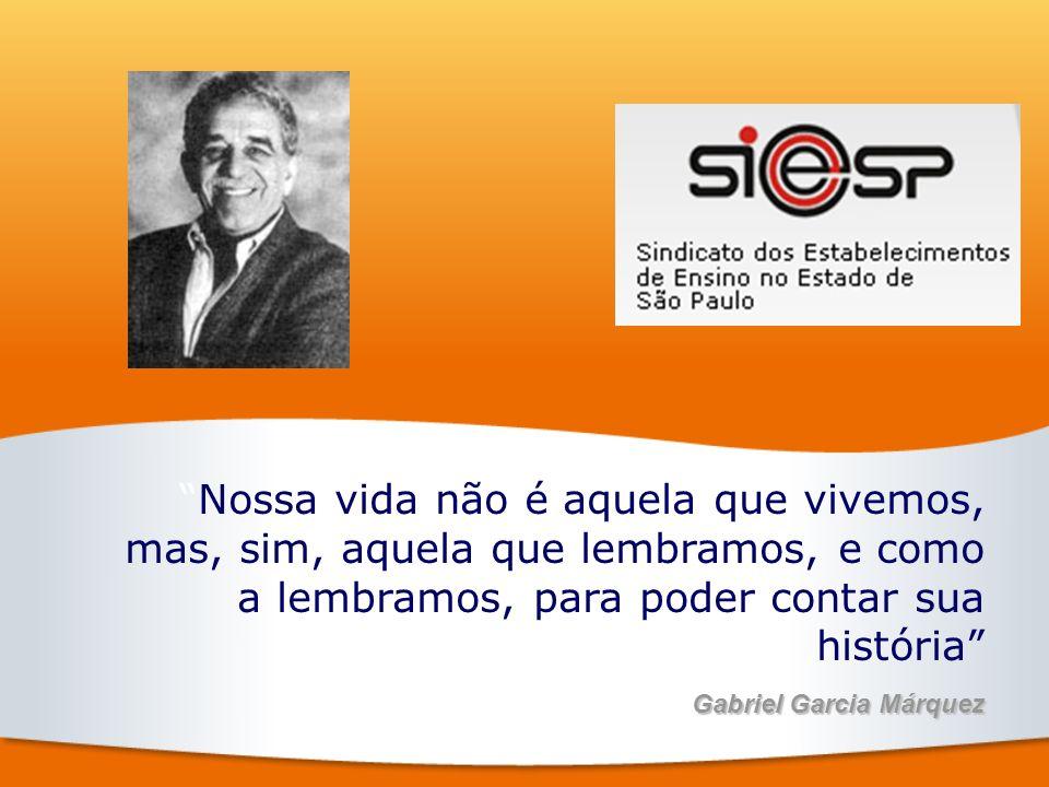 Nossa vida não é aquela que vivemos, mas, sim, aquela que lembramos, e como a lembramos, para poder contar sua história Gabriel Garcia Márquez