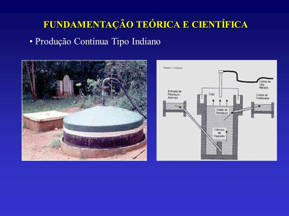 FUNDAMENTAÇÃO TEÓRICA E CIENTÍFICA Produção Contínua Tipo Indiano