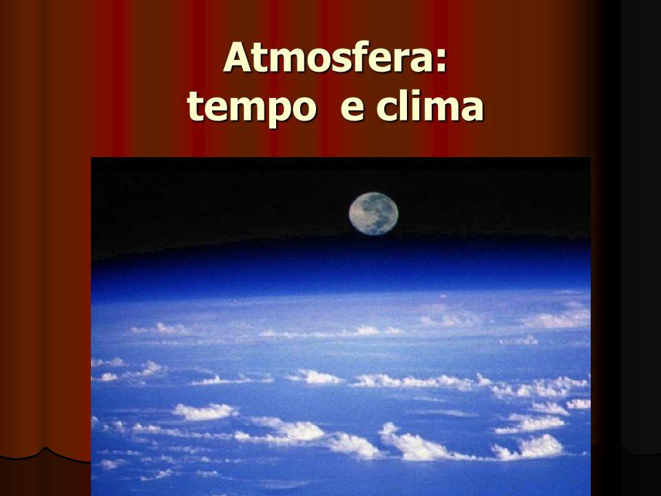 Atmosfera: tempo e clima