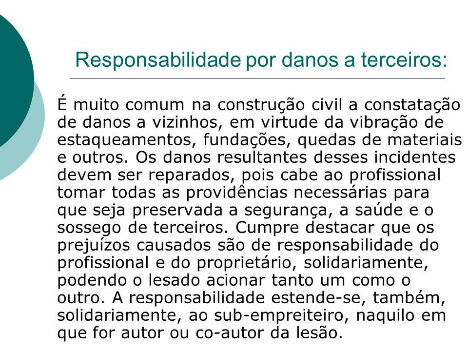 Responsabilidade ética Resulta de faltas éticas que contrariam a conduta moral na execução da atividade profissional.