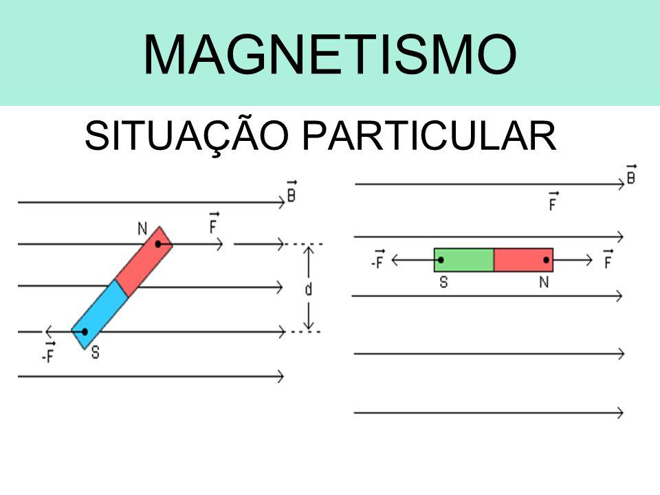ELETROMAGNETISMO FORÇA MAGNÉTICA IMPORTANTE: Trabalho da Força Magnética Pelo fato de a força magnética ser perpendicular à velocidade, ela nunca realiza trabalho.