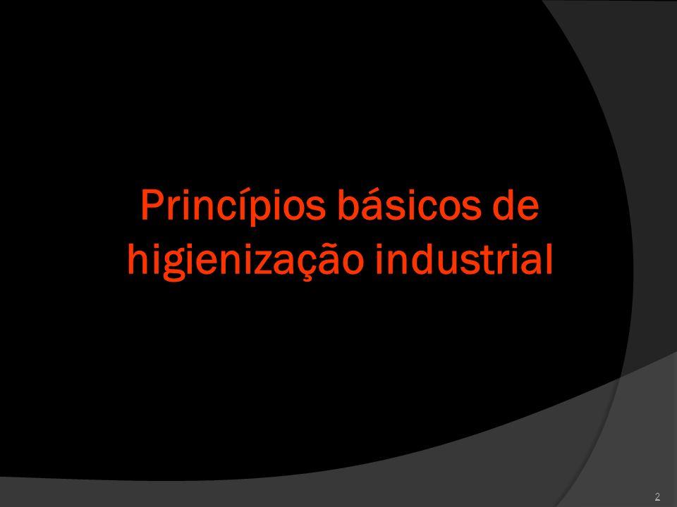Princípios básicos de higienização industrial 2