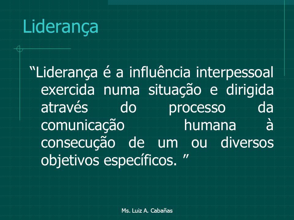 Ms. Luiz A. Cabañas Estratégias para reduzir a resistência Introduza a mudança em uma série de passos de alcance médio. Mudanças abrangentes represent
