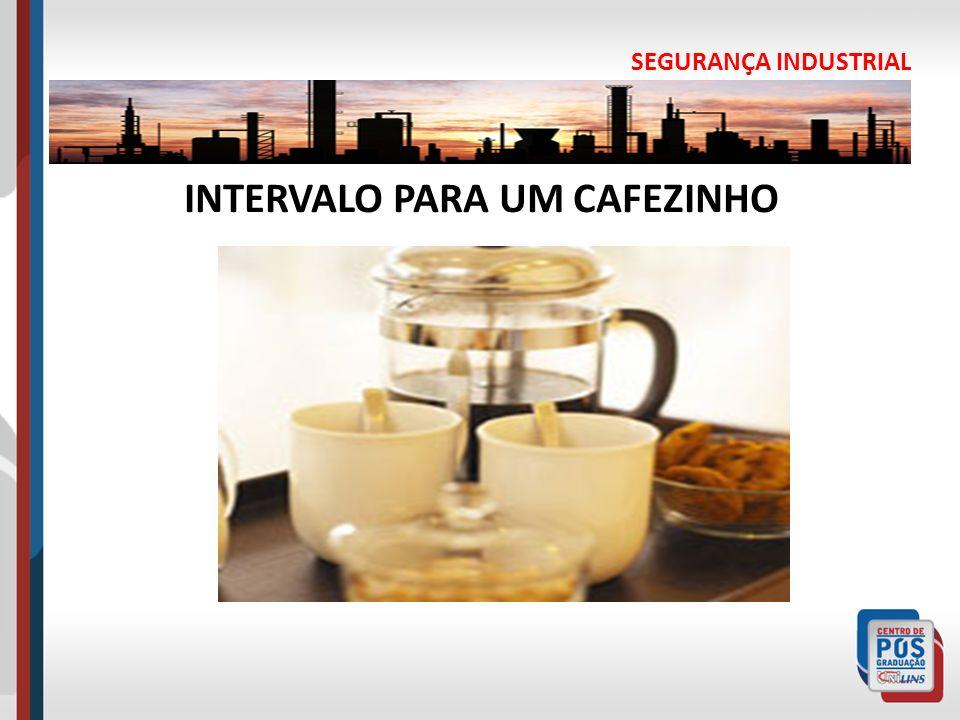 SEGURANÇA INDUSTRIAL INTERVALO PARA UM CAFEZINHO