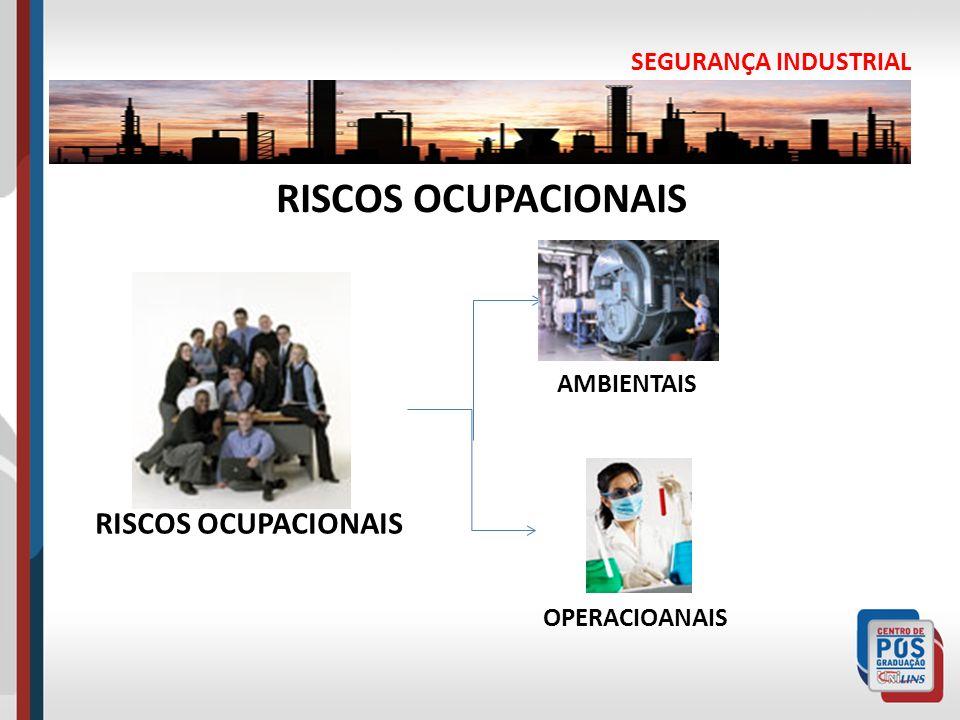 SEGURANÇA INDUSTRIAL RISCOS OCUPACIONAIS AMBIENTAIS OPERACIOANAIS RISCOS OCUPACIONAIS