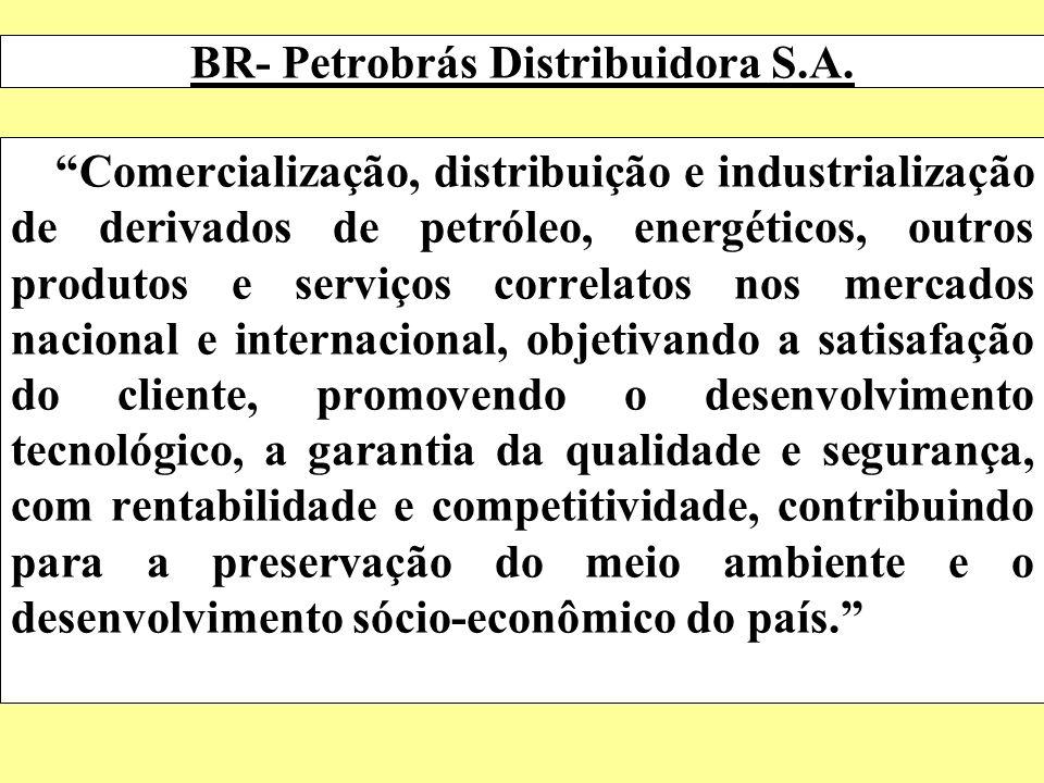 BR- Petrobrás Distribuidora S.A. Comercialização, distribuição e industrialização de derivados de petróleo, energéticos, outros produtos e serviços co