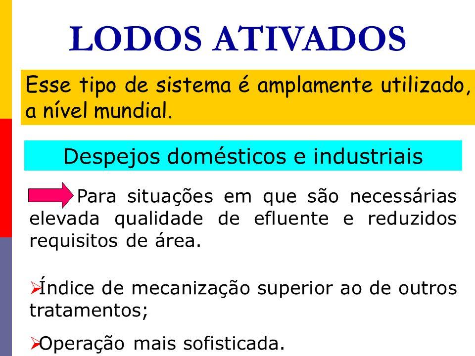PROCESSO DE LODO ATIVADO Para a ocorrência de flocos densos é necessário que as principais condições ambientais dentro dos reatores estejam controladas.
