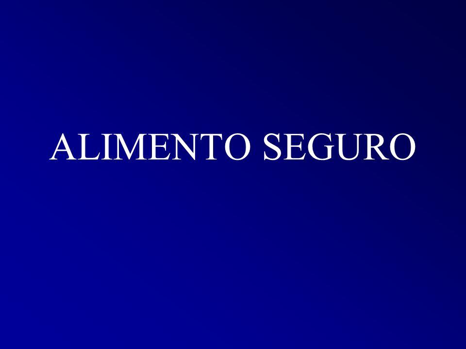 ALIMENTO SEGURO