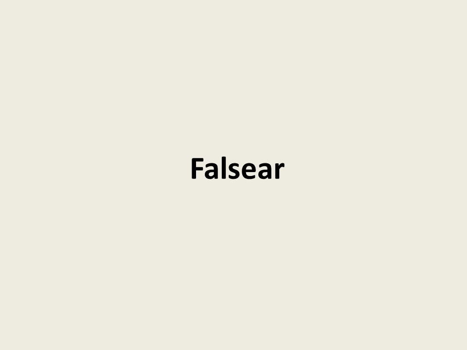 Falsear