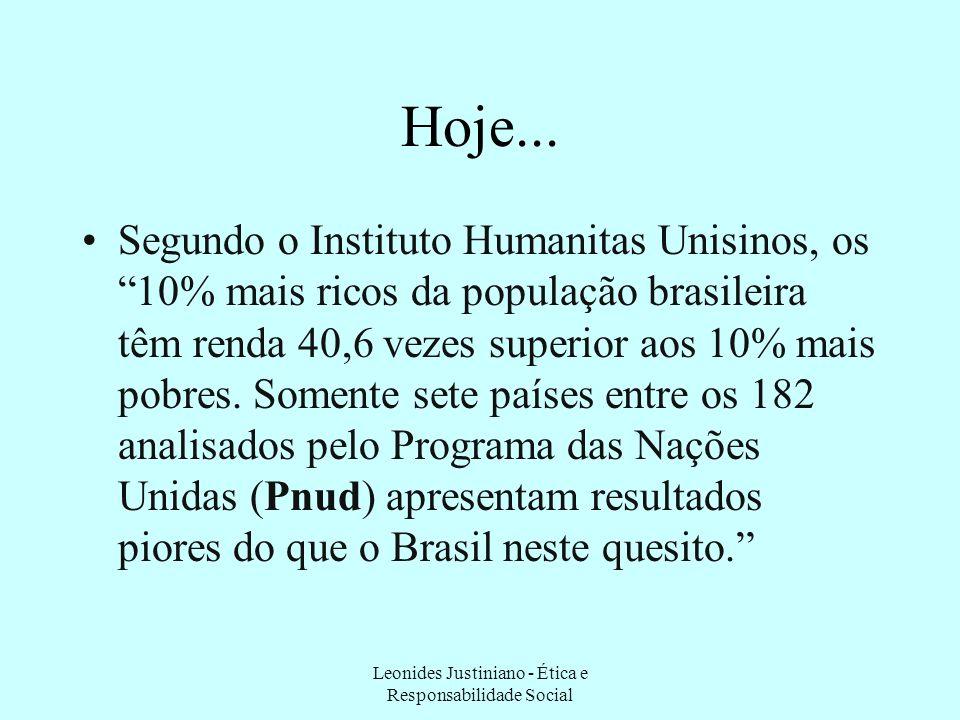 Renda Em 2003, 1% dos brasileiros mais ricos (somente 1,7 milhão de pessoas) se apropriava de uma soma das rendas domiciliares semelhante àquela detid
