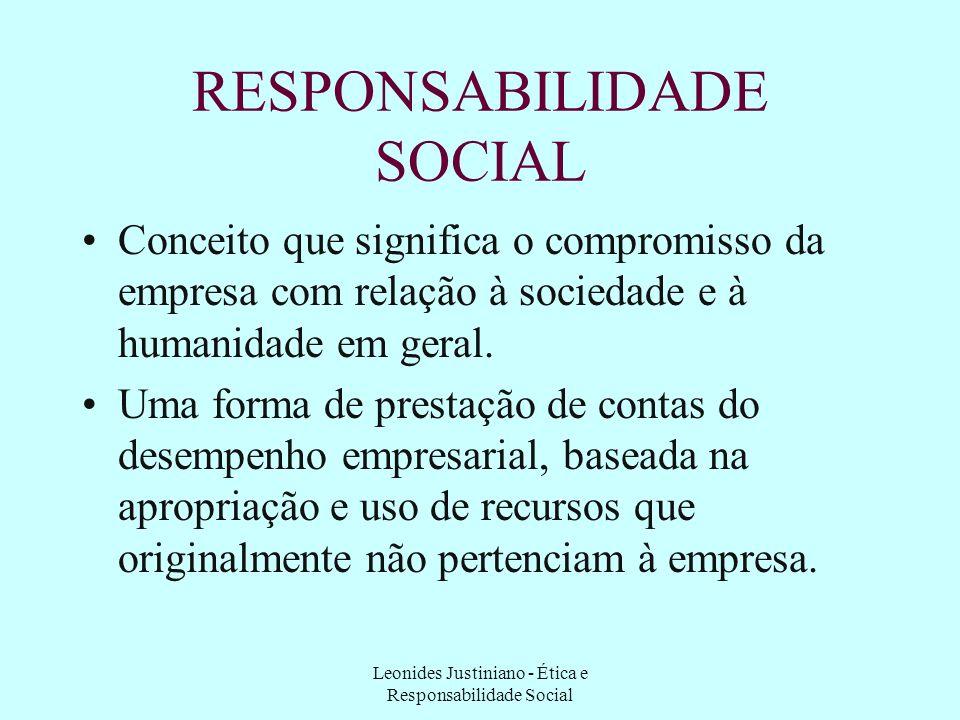 Leonides Justiniano - Ética e Responsabilidade Social CÓDIGOS DE ÉTICA ATENÇÃO!! Não se pode confundir determinados consensos de segmentos profissiona