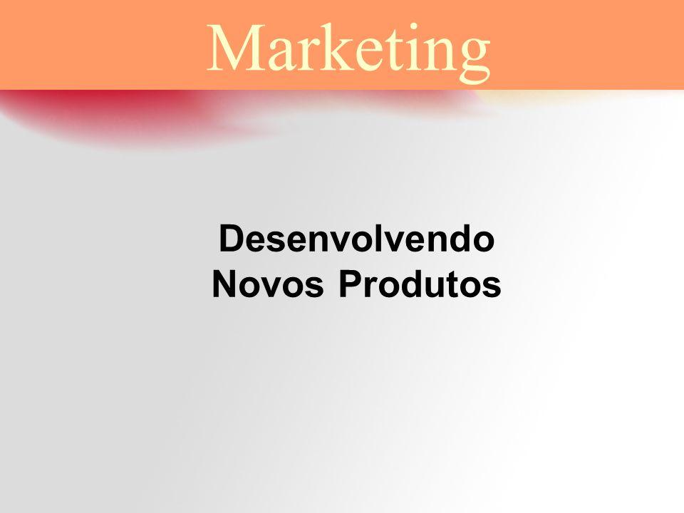 Desenvolvendo Novos Produtos Marketing