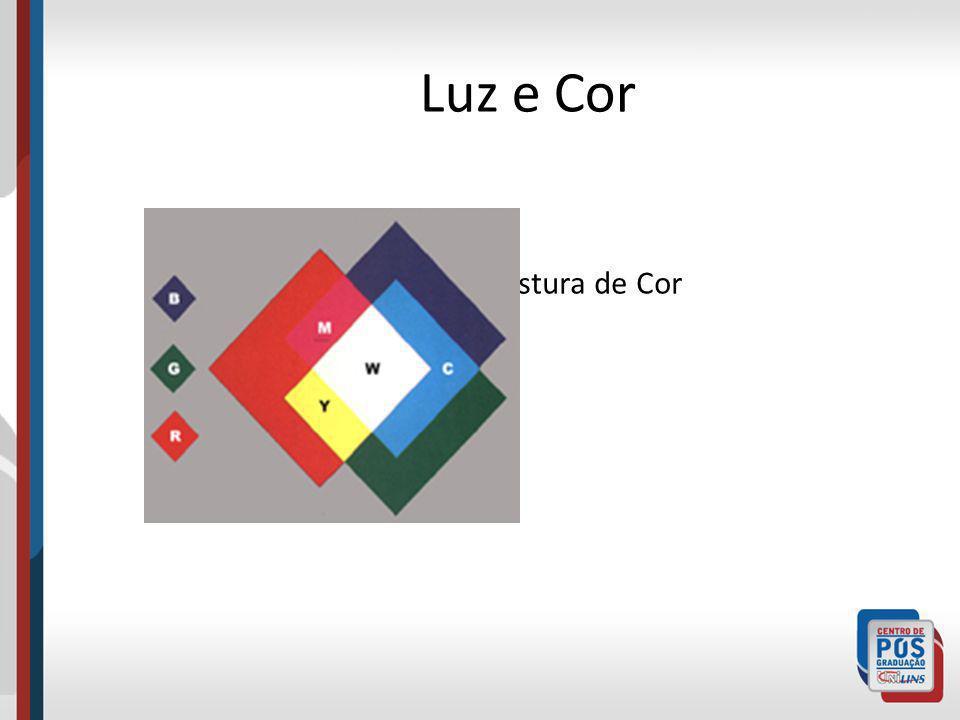 Luz e Cor Mistura de Cor