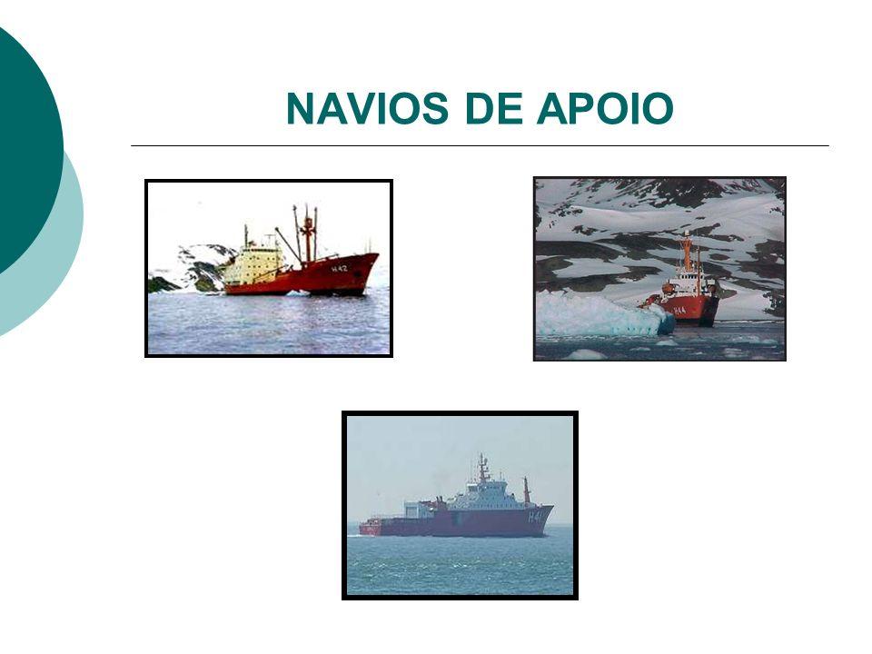 NAVIOS DE APOIO