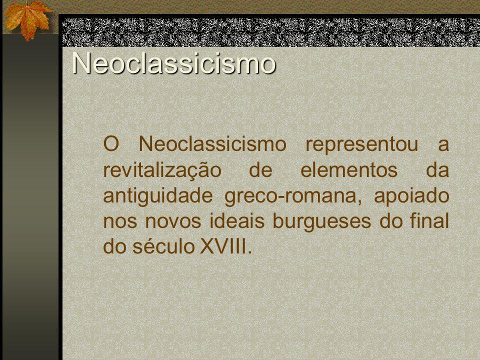 Neoclassicismo - Pintura Antônio Canova