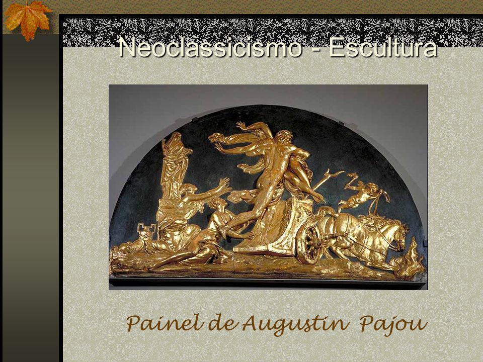Neoclassicismo - Escultura Painel de Augustin Pajou