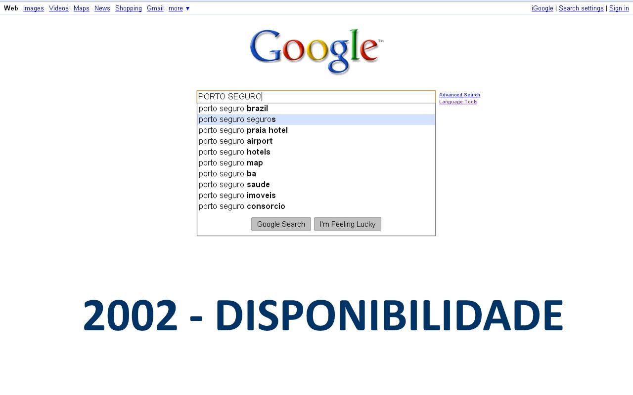 2002 - DISPONIBILIDADE
