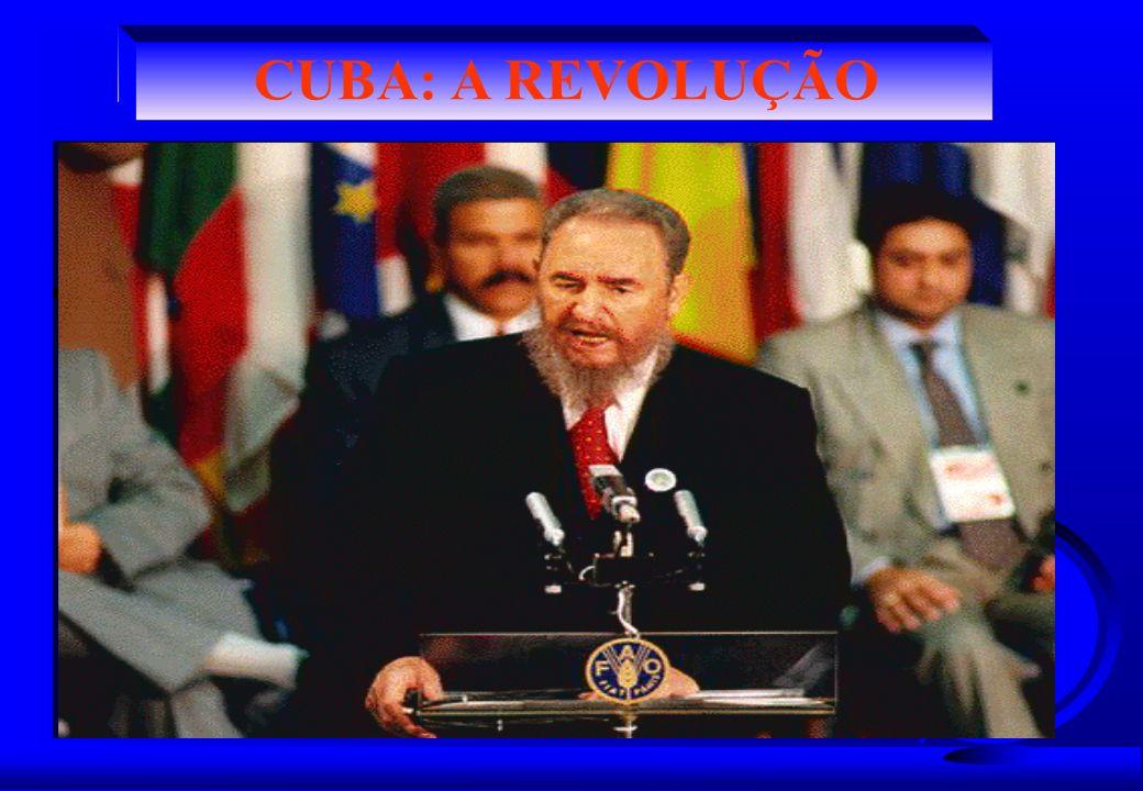 CUBA: A REVOLUÇÃO