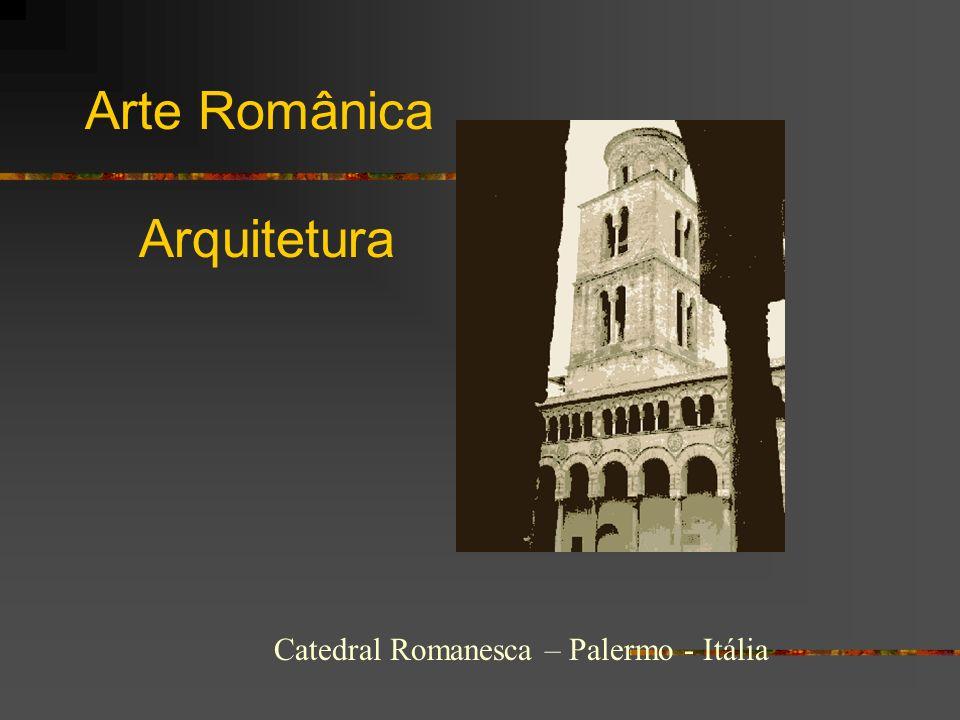 Arte Românica Arquitetura Catedral Romanesca – Palermo - Itália