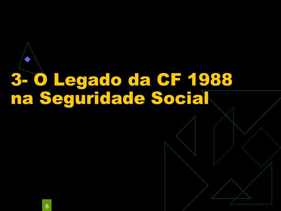 6 3- O Legado da CF 1988 na Seguridade Social