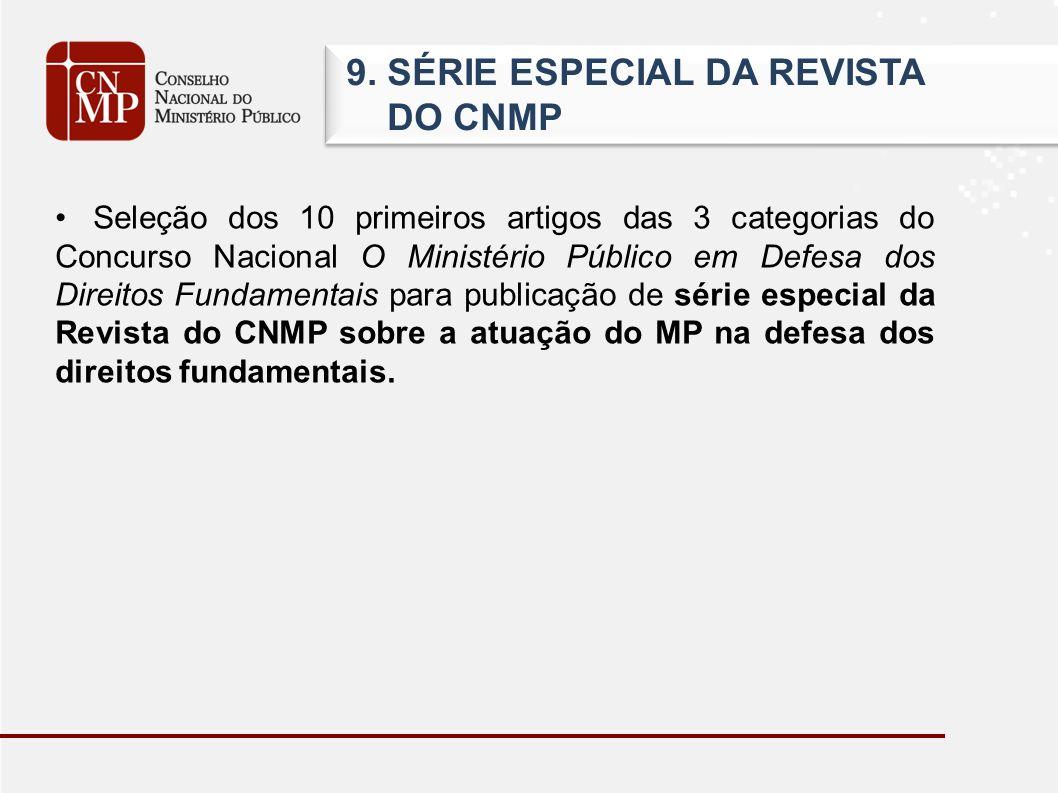 9.SÉRIE ESPECIAL DA REVISTA DO CNMP 9.