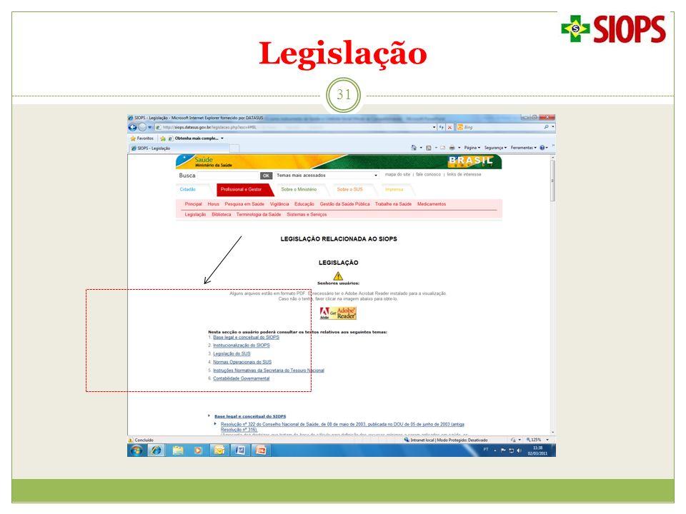 Legislação 31