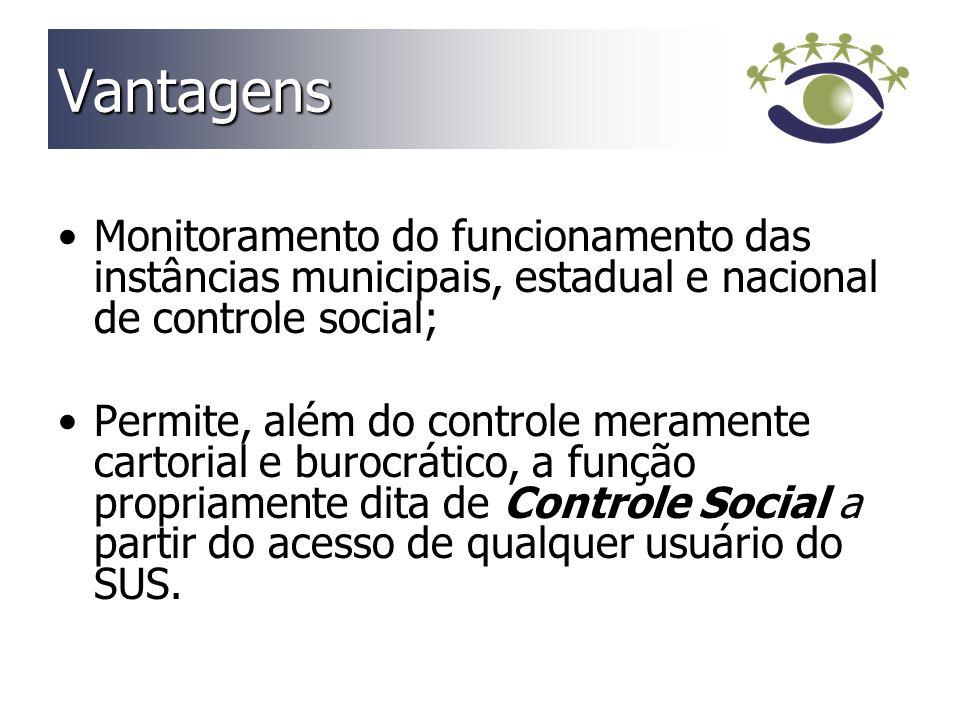 Consideração Final O Portal do Controle Social em Saúde de Santa Catarina é uma realidade a serviço da democracia no Sistema Único de Saúde .