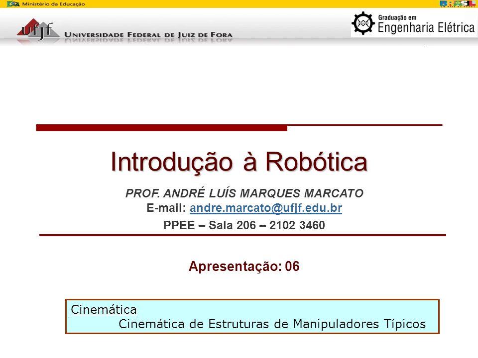 Curso de Introdução à Robótica – Aula Número: 02 – Prof.