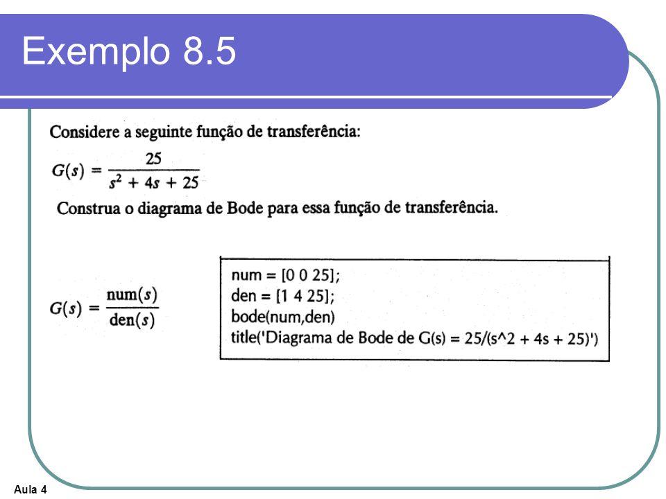 Aula 4 Exemplo 8.5