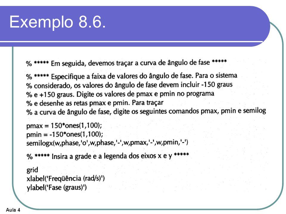 Aula 4 Exemplo 8.6.