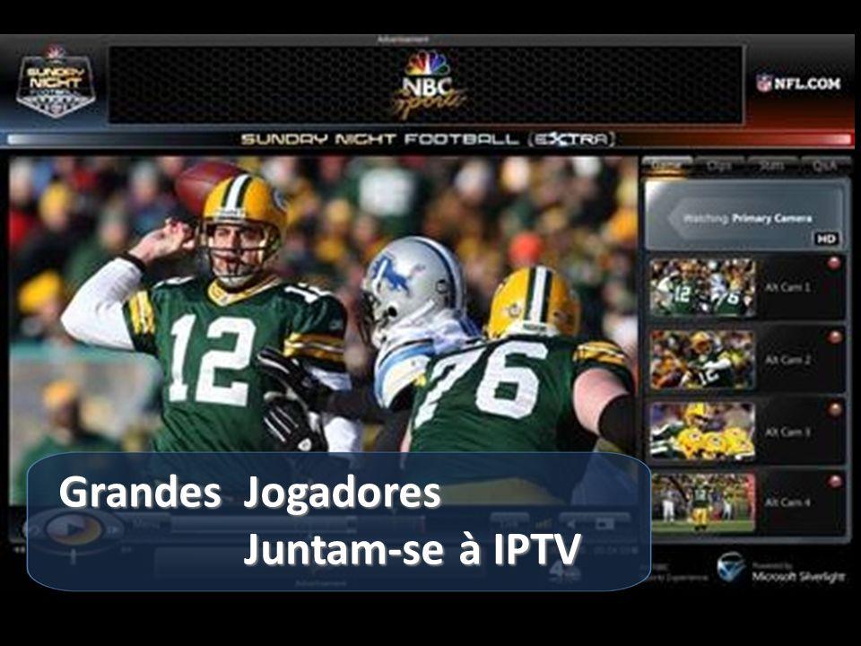 Grandes Jogadores Grandes Jogadores Juntam-se à IPTV Juntam-se à IPTV 7