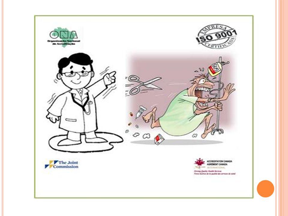 P RINCIPAIS I NTERESSADOS PELO PROCESSO Líderes e administradores; Profissionais de saúde; Organizações de saúde; Sistemas compradores; Governo; Cidadão.