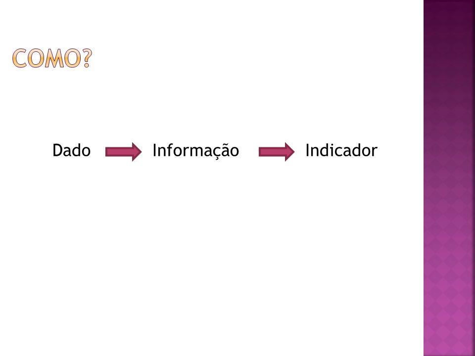 Dado Informação Indicador