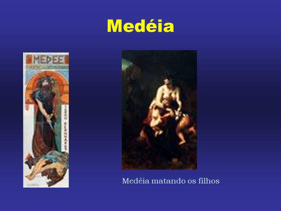 Medéia Medéia matando os filhos