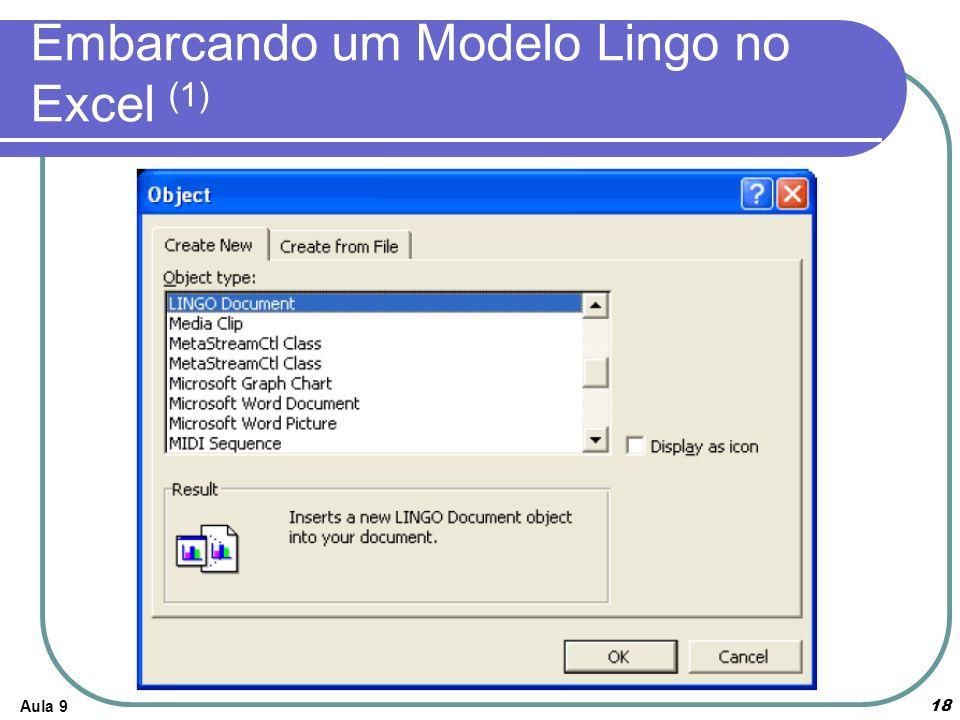 Aula 918 Embarcando um Modelo Lingo no Excel (1)