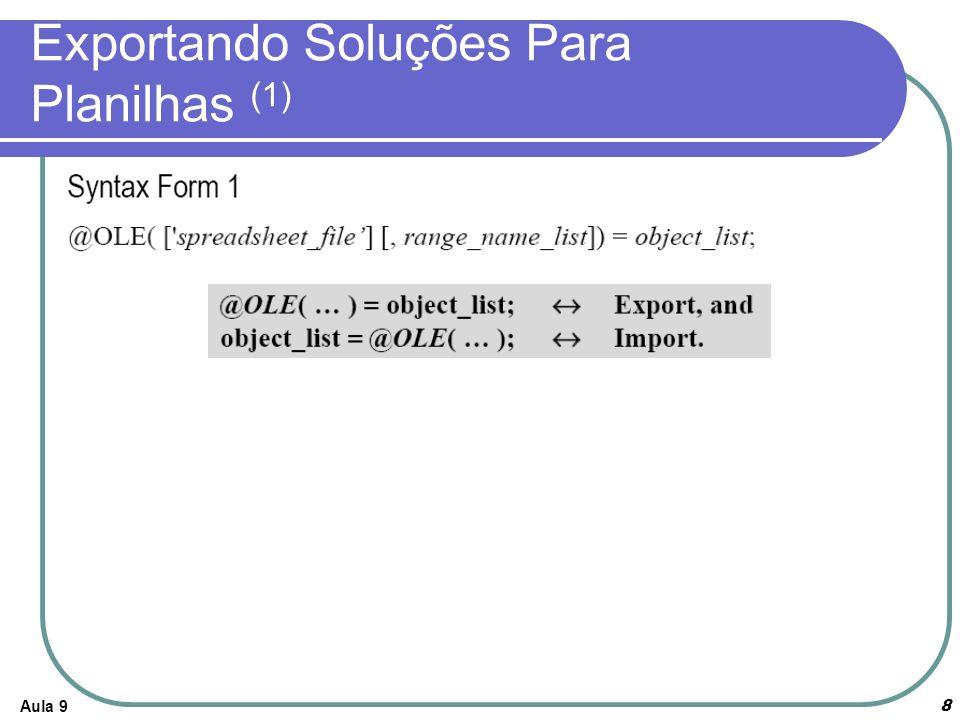 Aula 919 Embarcando um Modelo Lingo no Excel (2)