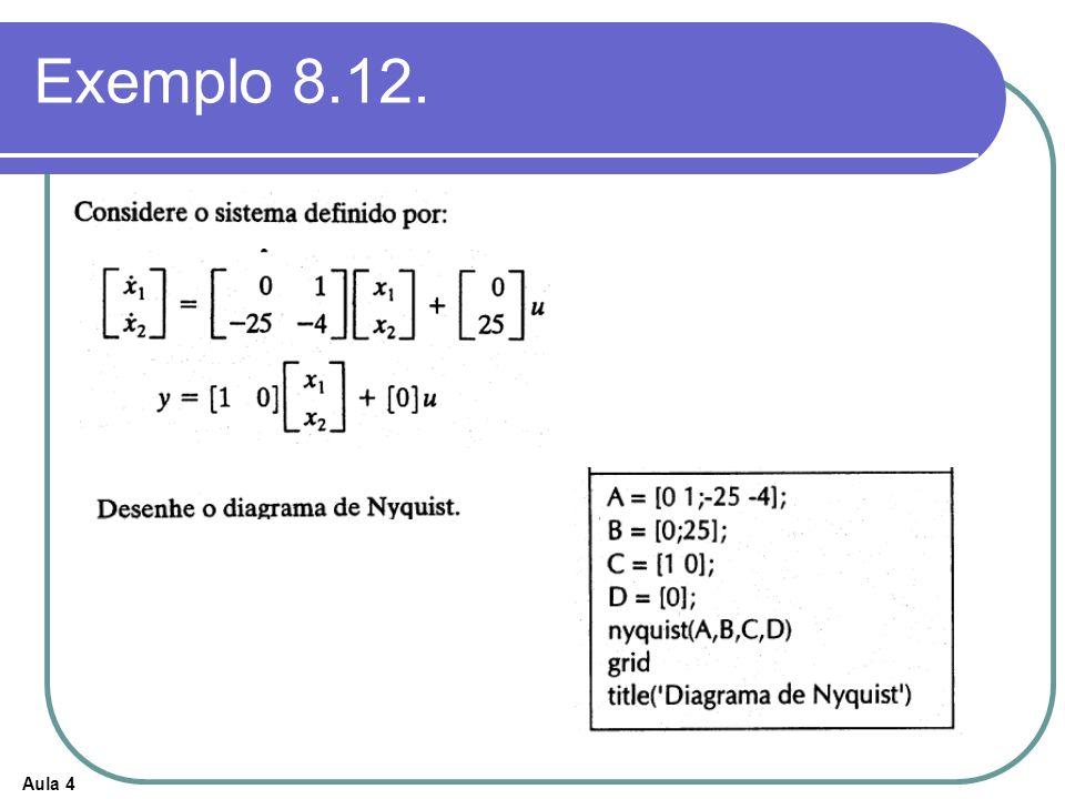 Aula 4 Exemplo 8.12.