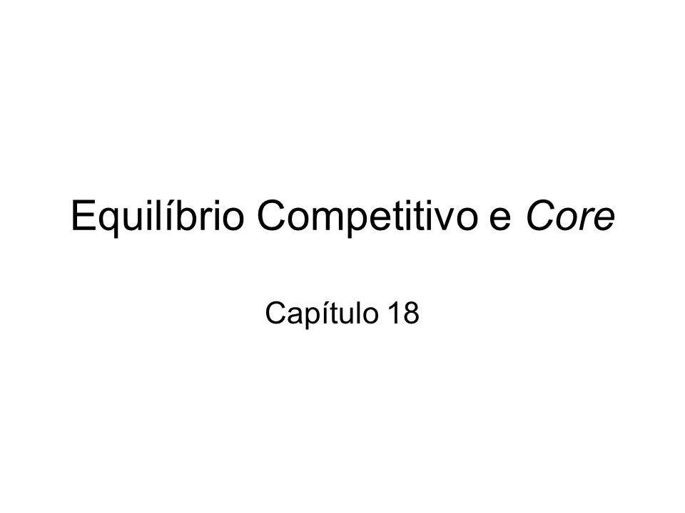 Equilíbrio Competitivo e Core Capítulo 18
