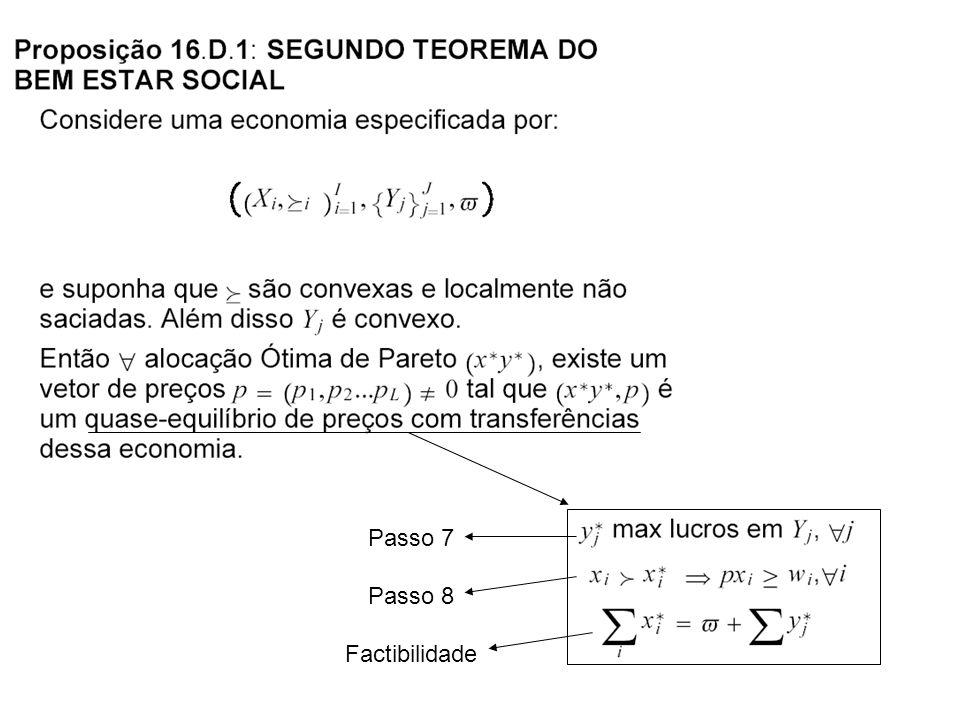 Passo 7 Passo 8 Factibilidade