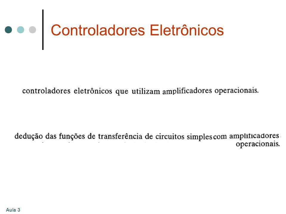Aula 3 Controladores Eletrônicos